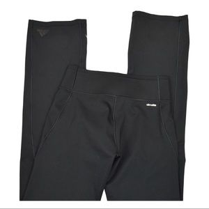 Adidas Climalite Straight Leg Black Yoga Pants XS
